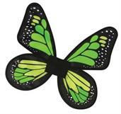 Wings Butterfly Satin Ch Green