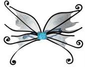 Wings Spider Fairy Blue W/Bk