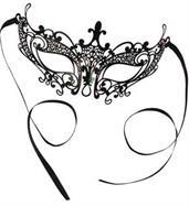 Elegant Laser Cut Mask - Small
