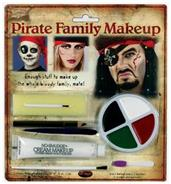Pirate Family Makeup Accessory Kit