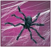 Spider 50In Hairy Poseable Decoration
