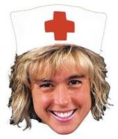 Nurse Hat With Red Cross