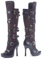 Bandit Black Boots By Leg Ave