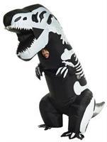 Skeleton T-Rex Inflatable Adul