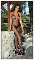 Bodystocking With Ribbon Bodice