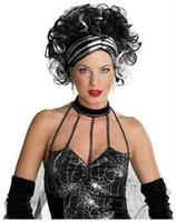 Wicked Widow Black/White Wig