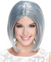Frosted Midi Bob Smoky Grey Wg