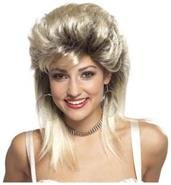 80'S Blonde Rocker Groupie Wig