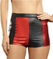 Harlequin Shorts Blk/Red