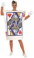 Queen Of Hearts Card Adult