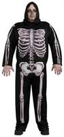 Skeleton Adult Costume 44-52