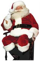Santa Suit Crimson Imperial Costume