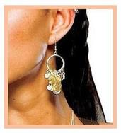 Movie 300 Spartan Queen Earring Accessory