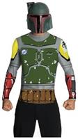 Boba Fett Top Cape Mask Adult Costume