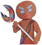 Gingerbread Man Inflate Lollipop Accessory