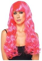 Starbright Wig Neon Pink Wig