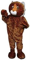 Tiger Mascot Adult Costume One Size