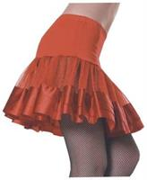 Petticoat Red Ribbon Skirt