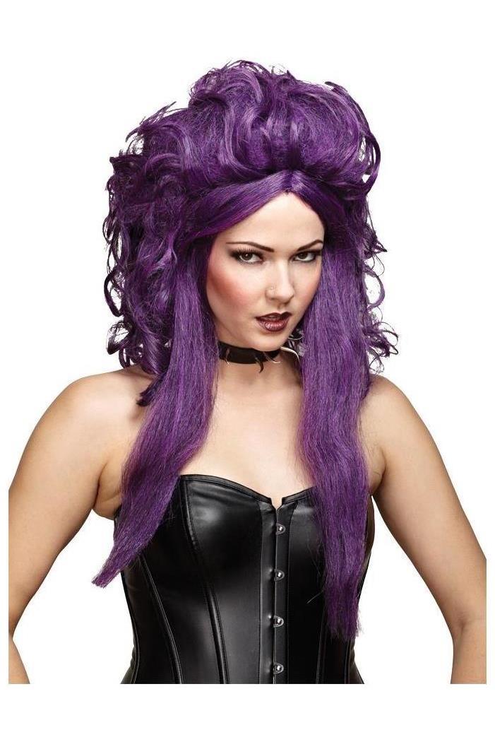 Sorceress Black Purple Wig Spicylegs Com